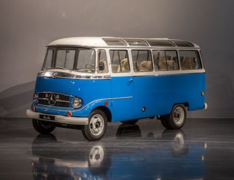 1960 Mercedes  O319 10 Passagiere Luxusbus